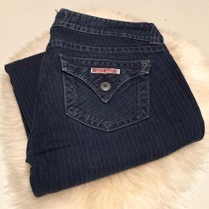 Hudson Pinstripe Jeans